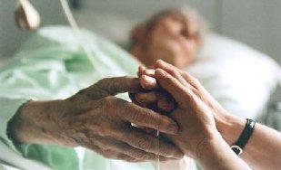 Todkranke Menschen