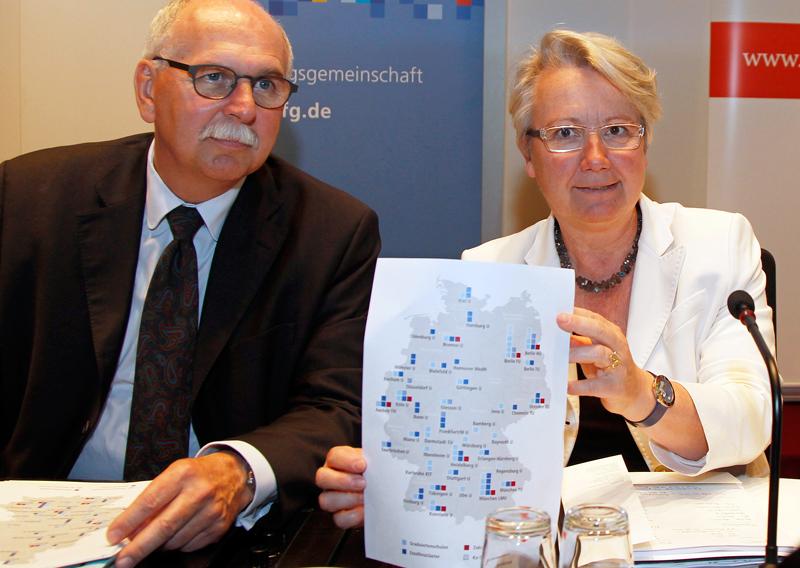 F nf neue elite universit ten in deutschland for Universitaten deutschland