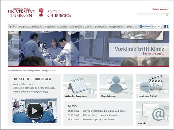 "Anatomie per E-Learning: ""Sectio chirurgica"" – als interdisziplinäre ..."