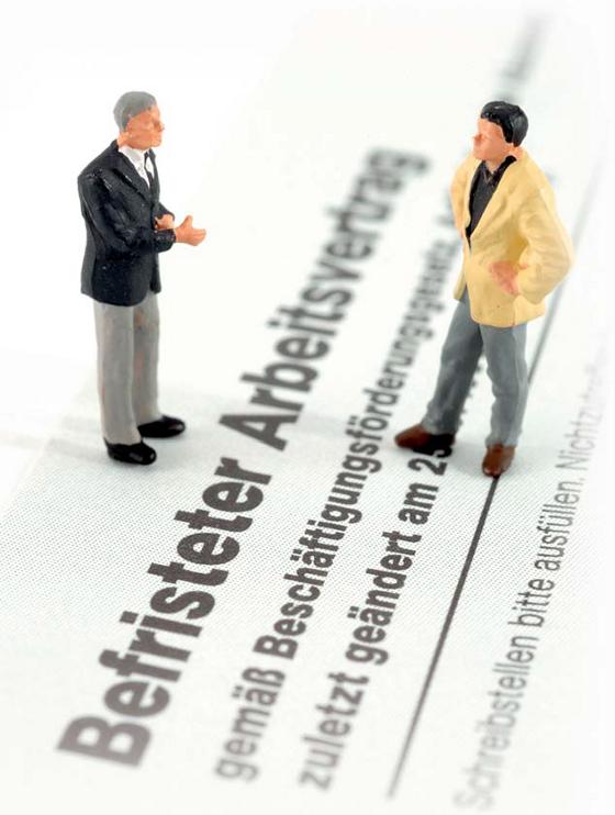 Befristung Von Arbeitsverträgen Nur Unter Bestimmten Voraussetzungen