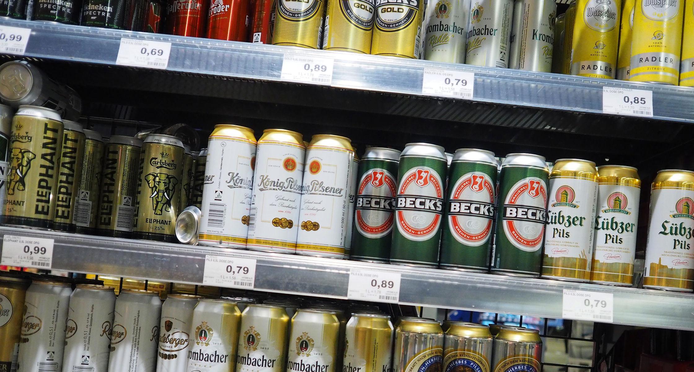 Höhere Preise für Alkohol in Deutschland angemahnt