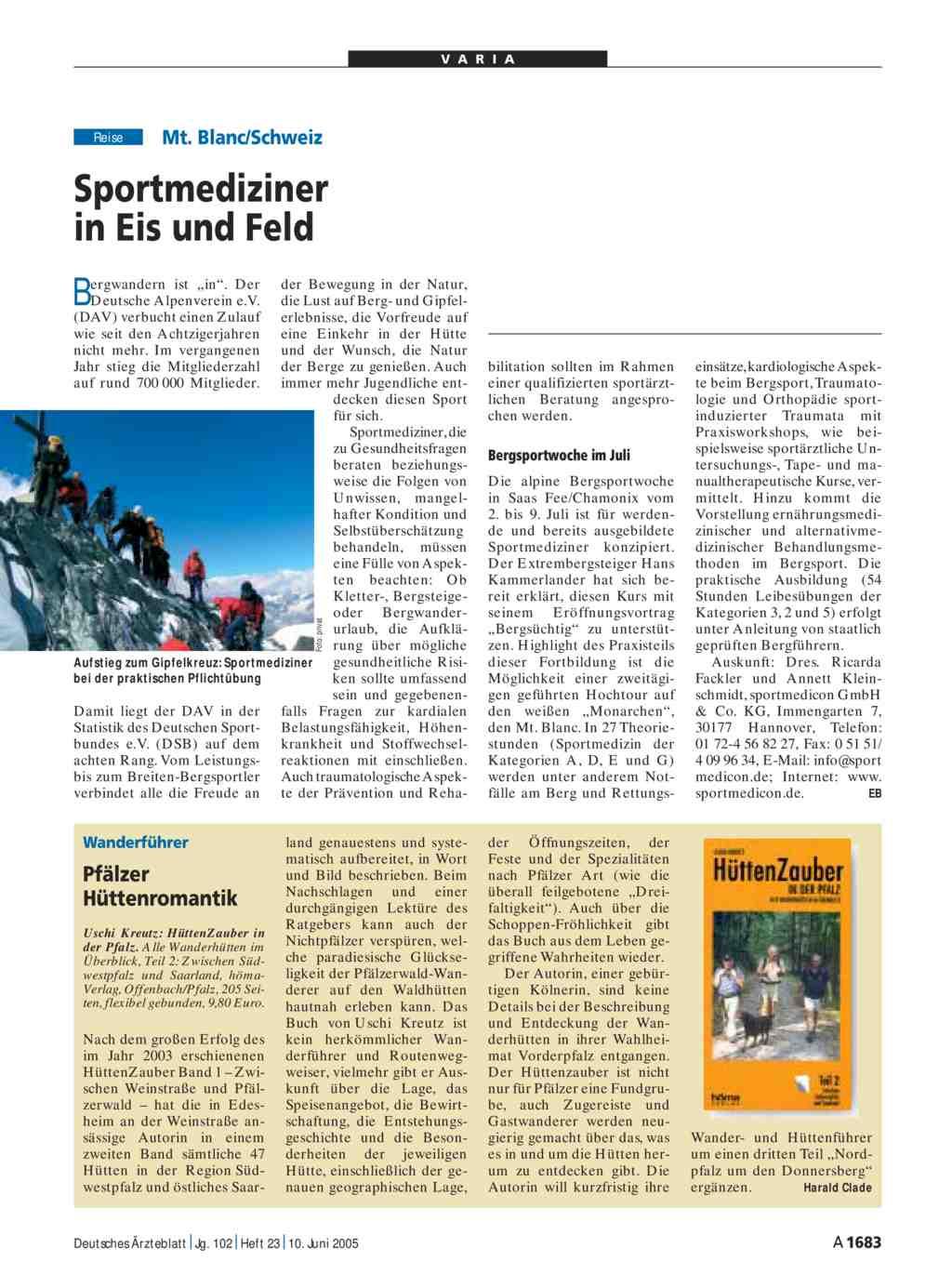 Mt blanc schweiz sportmediziner in eis und feld for Medizin studieren schweiz