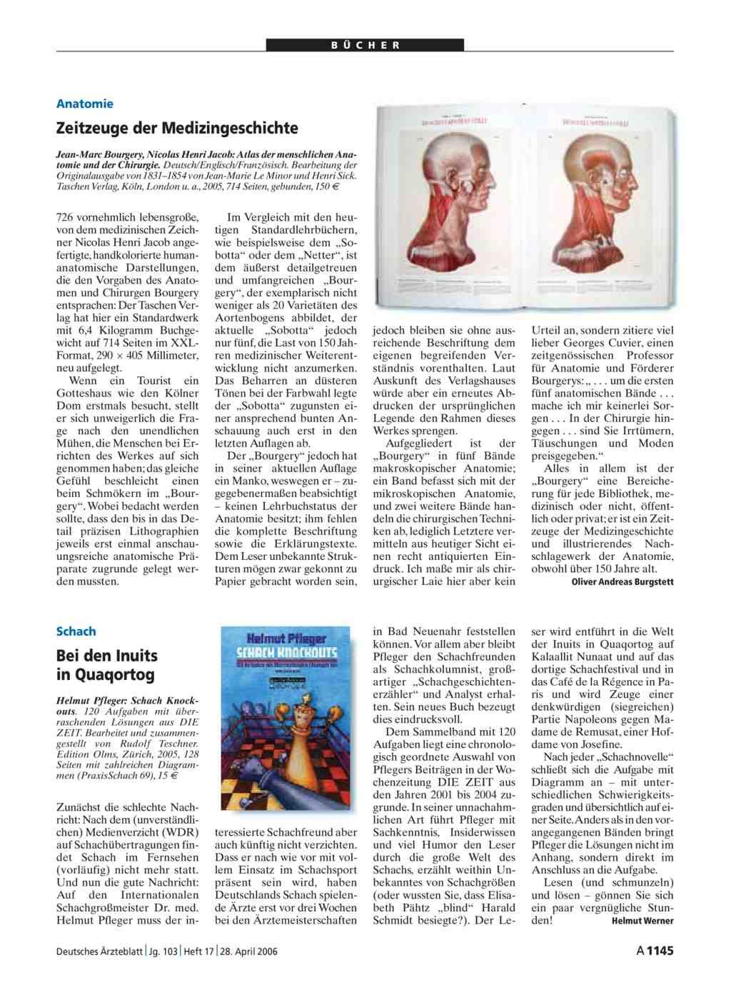 Atlas der menschlichen Anatomie und der Chirurgie