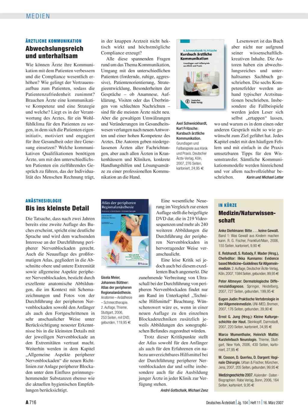 Atlas der peripheren Regionalanästhesie. Anatomie – Anästhesie ...