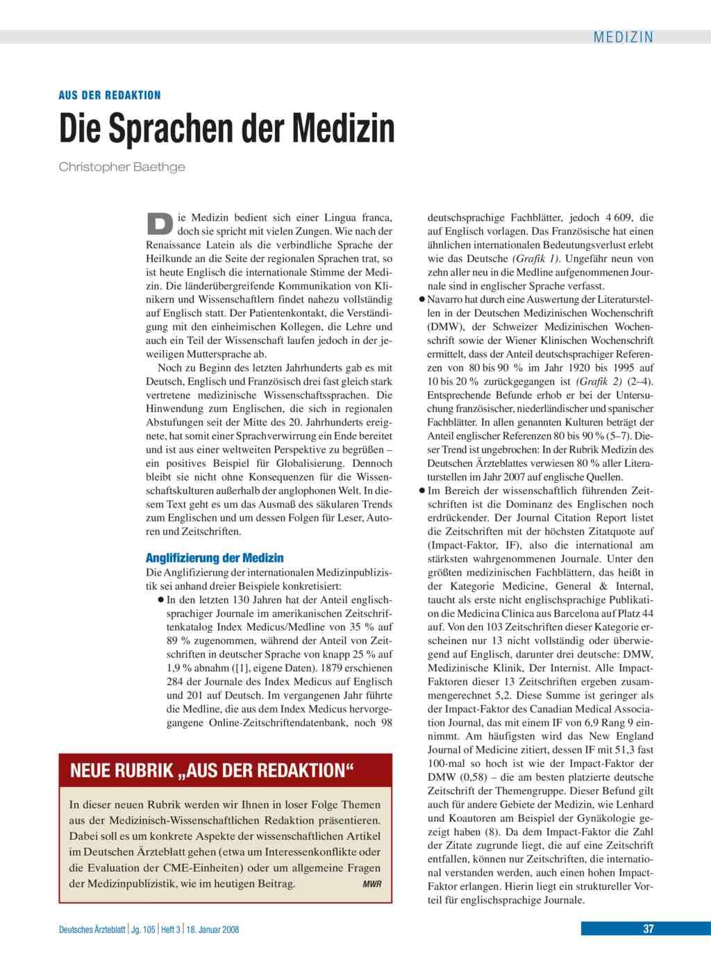 Deutsche medizinische wochenschrift online dating