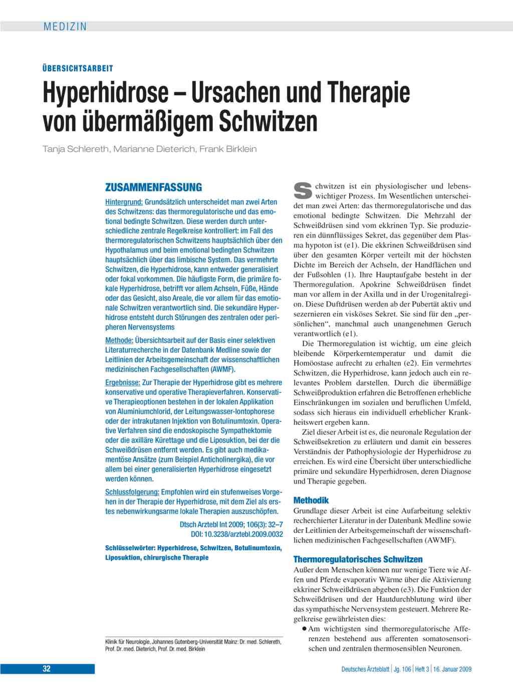 hyperhidrose ursachen und therapie von berm igem schwitzen. Black Bedroom Furniture Sets. Home Design Ideas