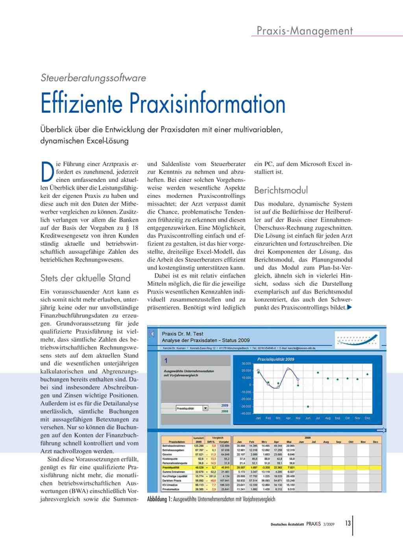 Steuerberatungssoftware: Effiziente Praxisinformation