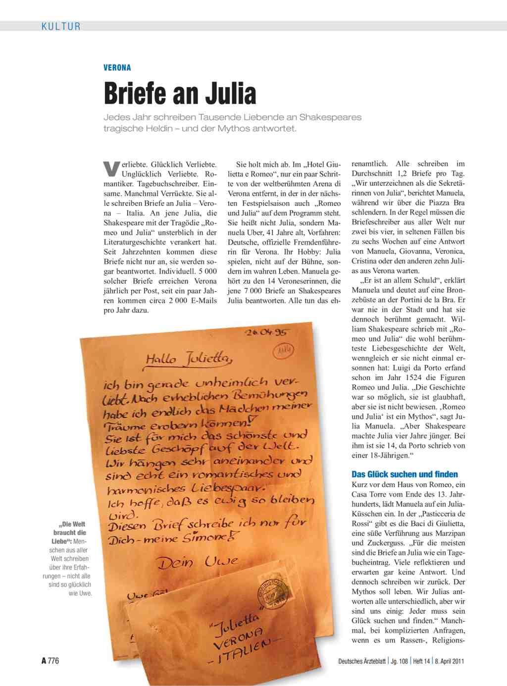 Briefe Für Julia Stream : Verona briefe an julia