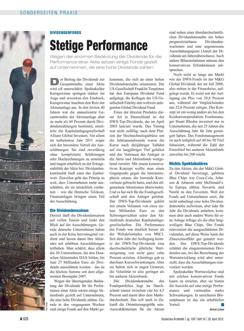 Dividendenfonds: Stetige Performance