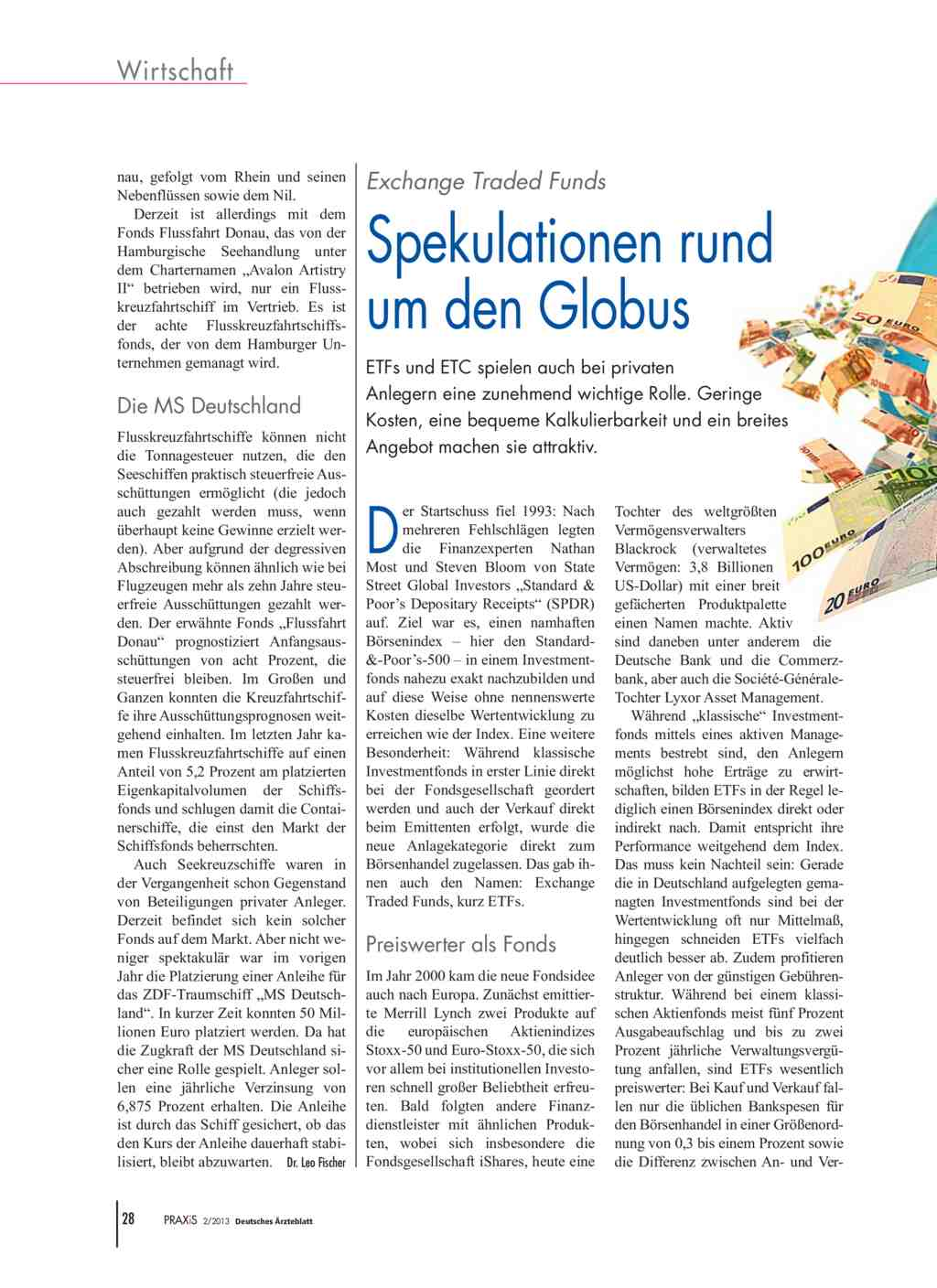 Exchange Traded Funds: Spekulationen rund um den Globus