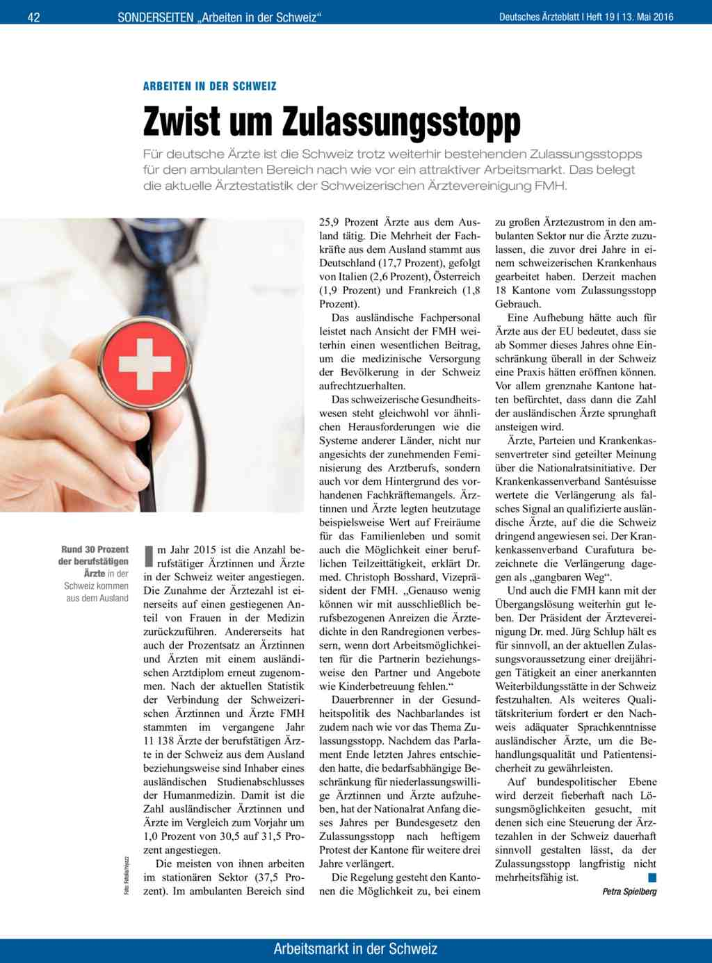 Arbeiten In Der Schweiz Zwist Um Zulassungsstopp