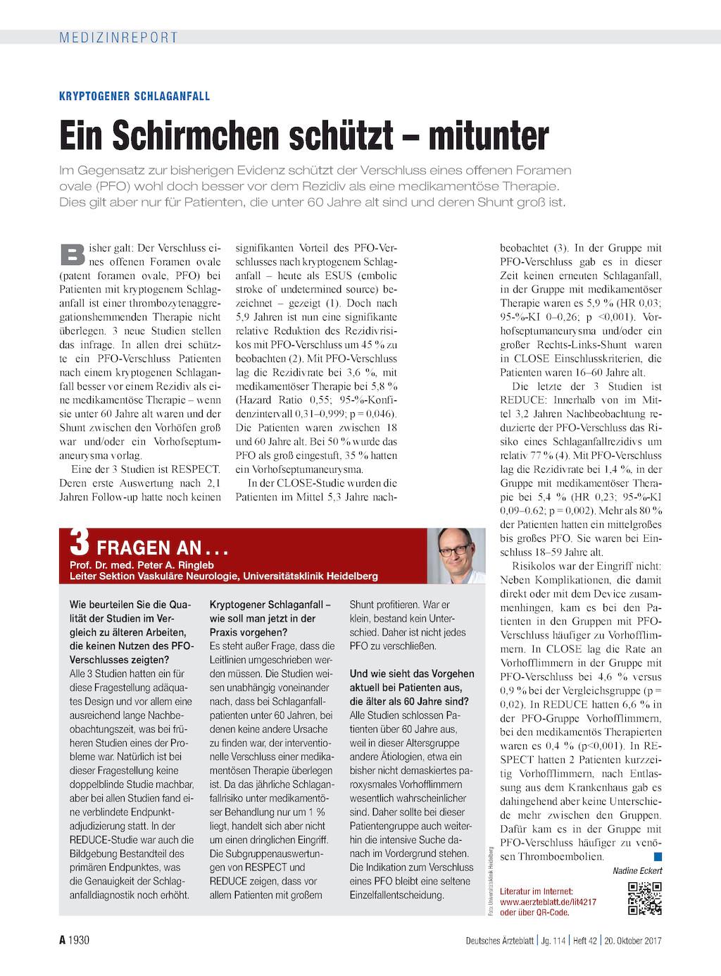 Schlaganfall Eine Kontinuierliche Nachsorge Wird In Deutschland