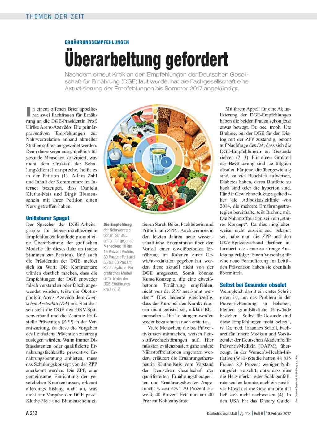 Neue Ernahrungsregeln Mehr Fett Weniger Kohlenhydrate Konnten