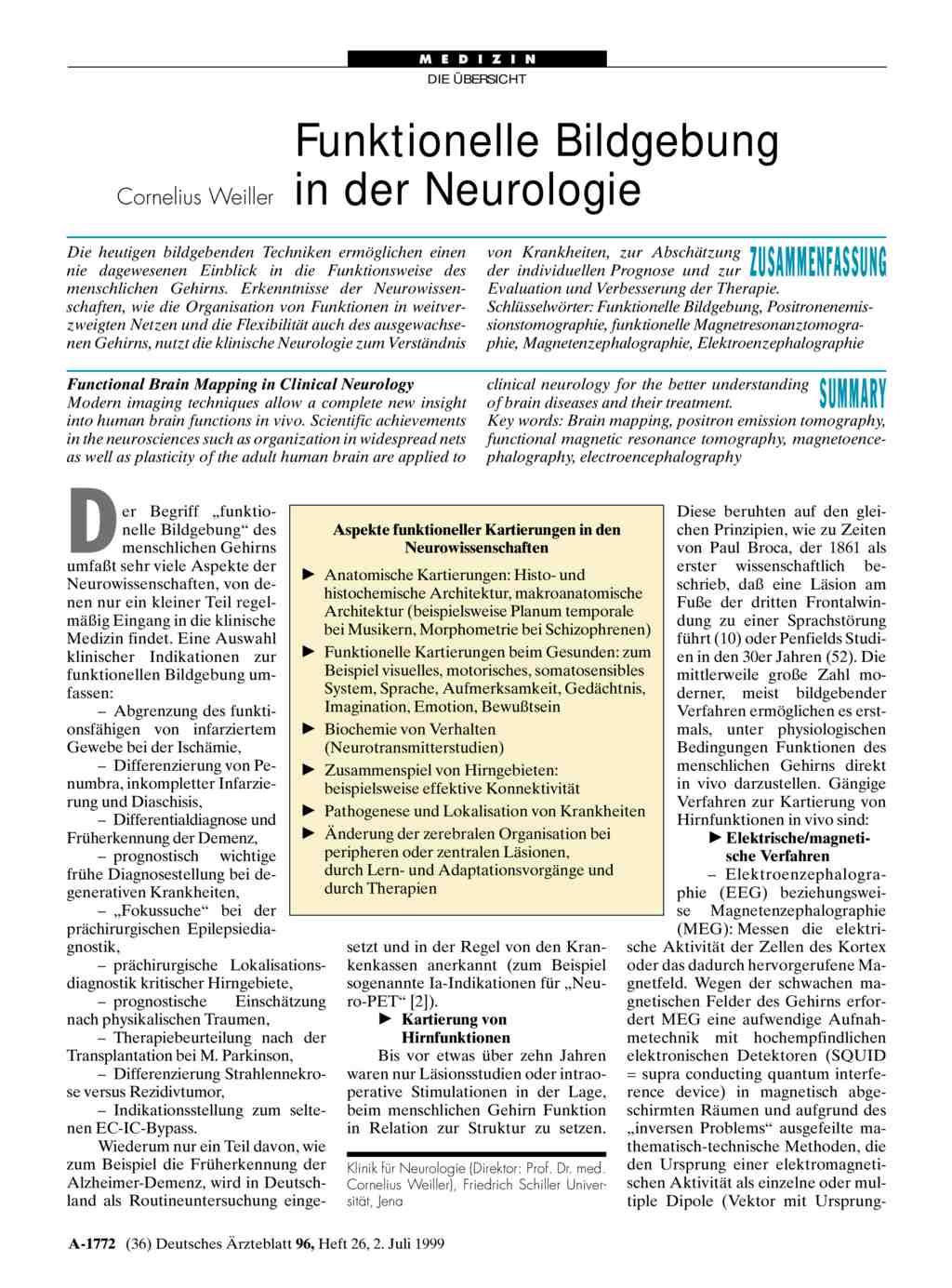 Groß Cerebellum Funktionelle Anatomie Fotos - Anatomie Ideen ...