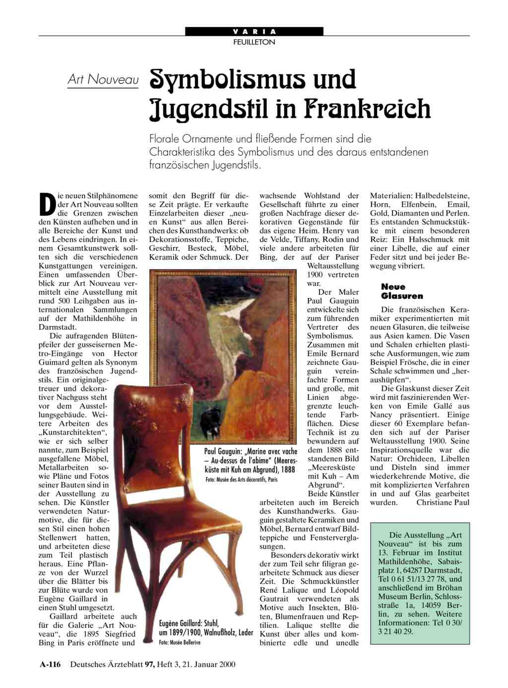 Deco Jugendstil Unterschied nouveau symbolismus und jugendstil in frankreich