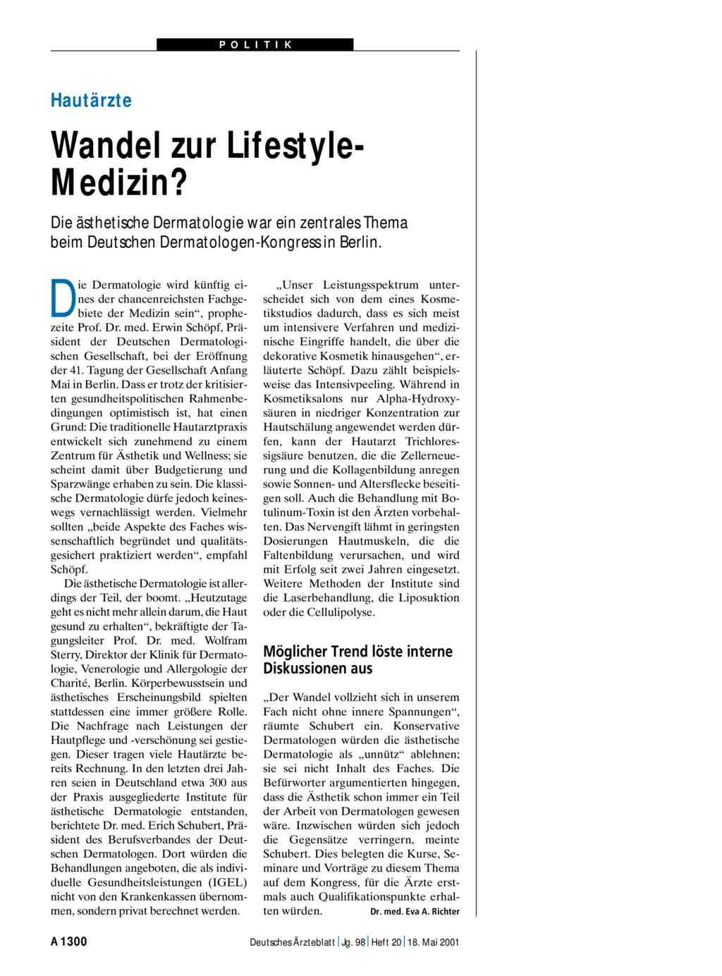 Beste Dermatologen Bildung Bilder - Menschliche Anatomie Bilder ...