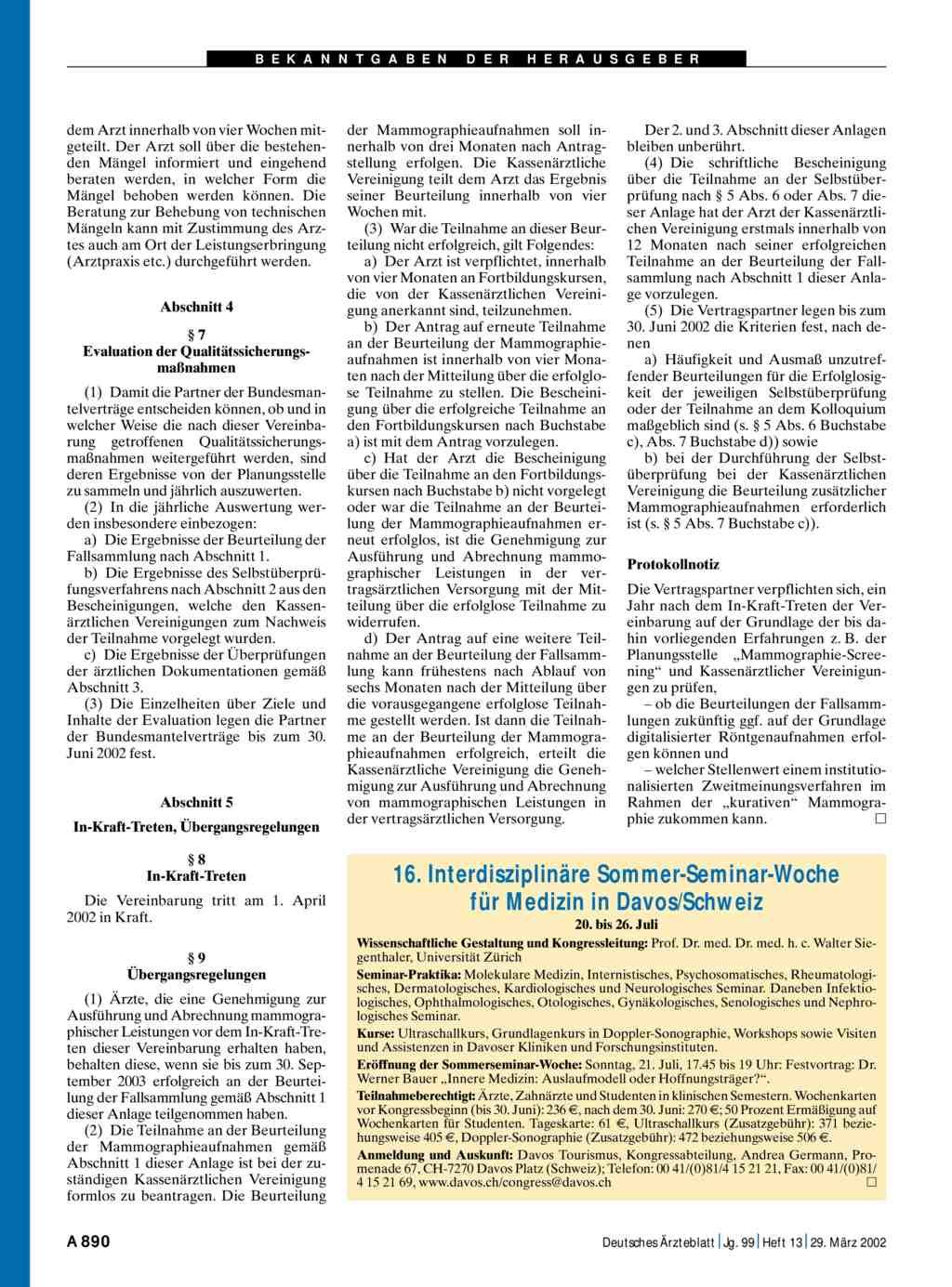 16 interdisziplin re sommer seminar woche f r medizin in for Medizin studieren schweiz