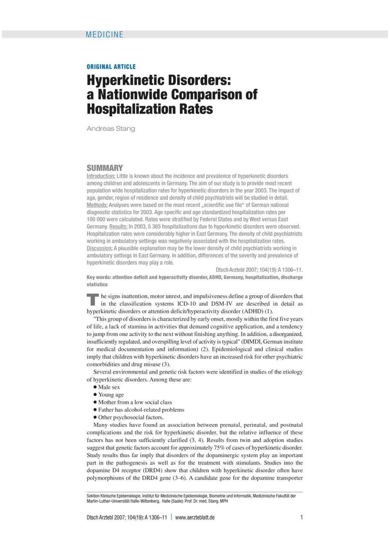 Complex Movement Disorders