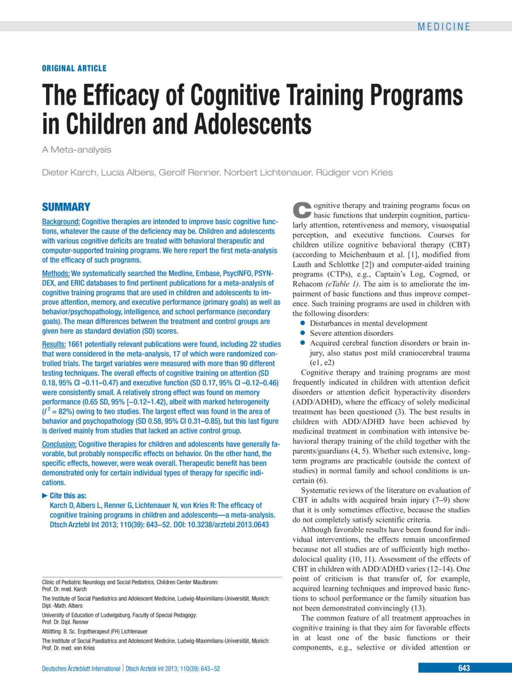 an introduction to the analysis of cognitive development