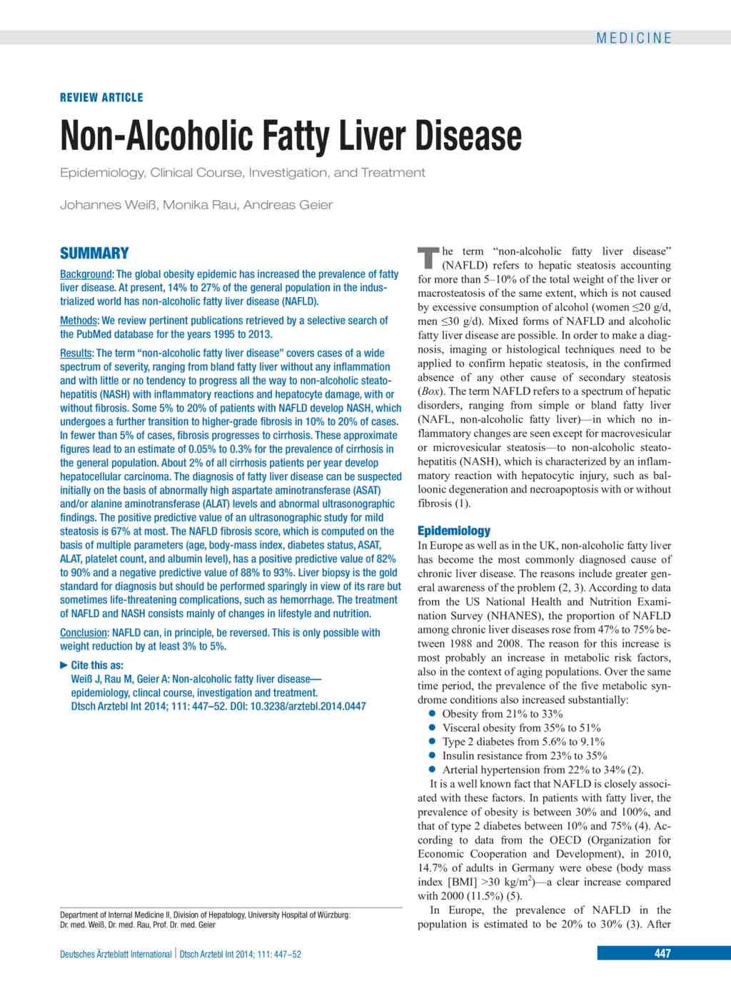non alcoholic fatty liver disease Non-alcoholic fatty liver disease, or nafld, is on the rise in the united states thanks to a huge increase in obesity rates over the last three decades in industrialized countries, 20 to 40 percent of the general population has some form of fatty liver disease and tthe chances of its progressing increase with age.