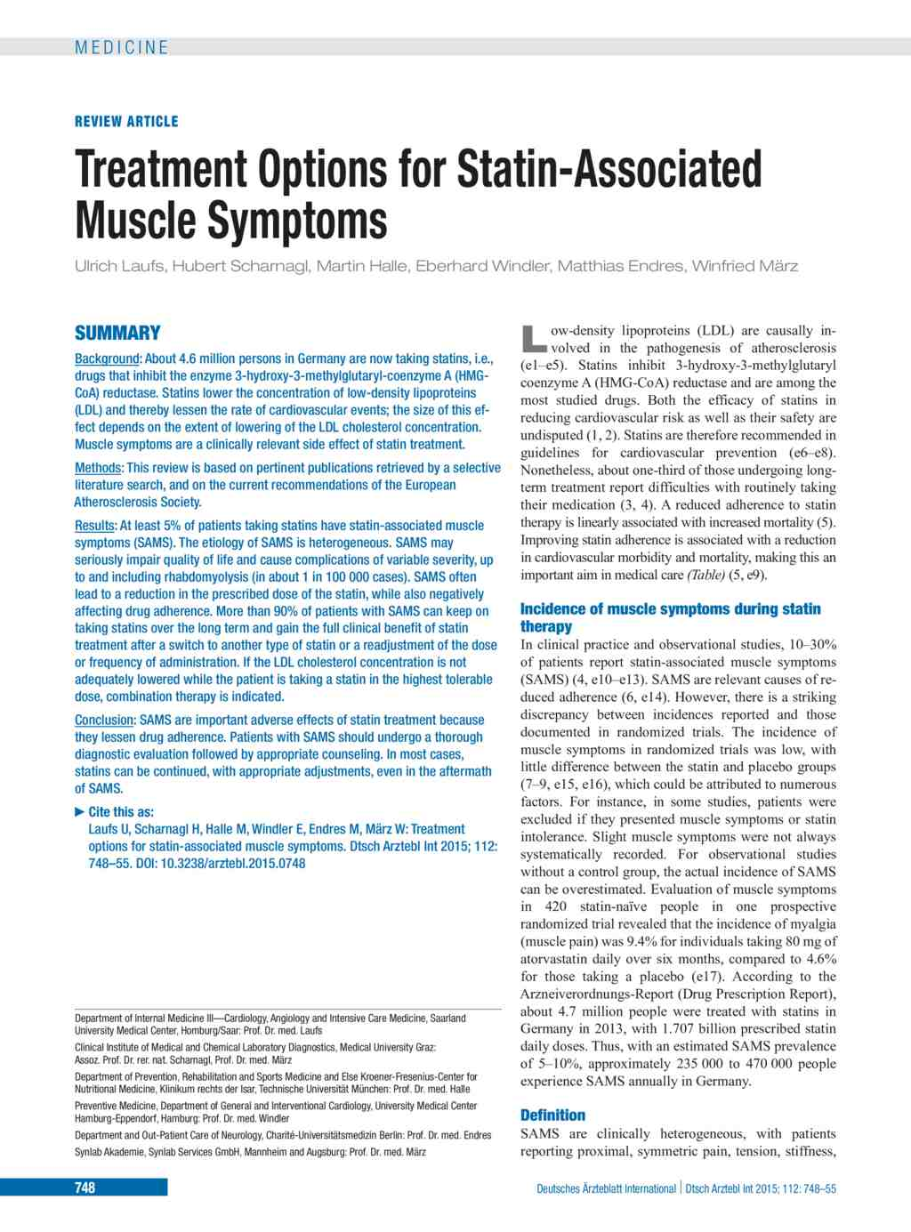 Treatment Options For Statin Associated Muscle Symptoms 30102015 Process Flow Diagram National Cranberry Cooperative Article