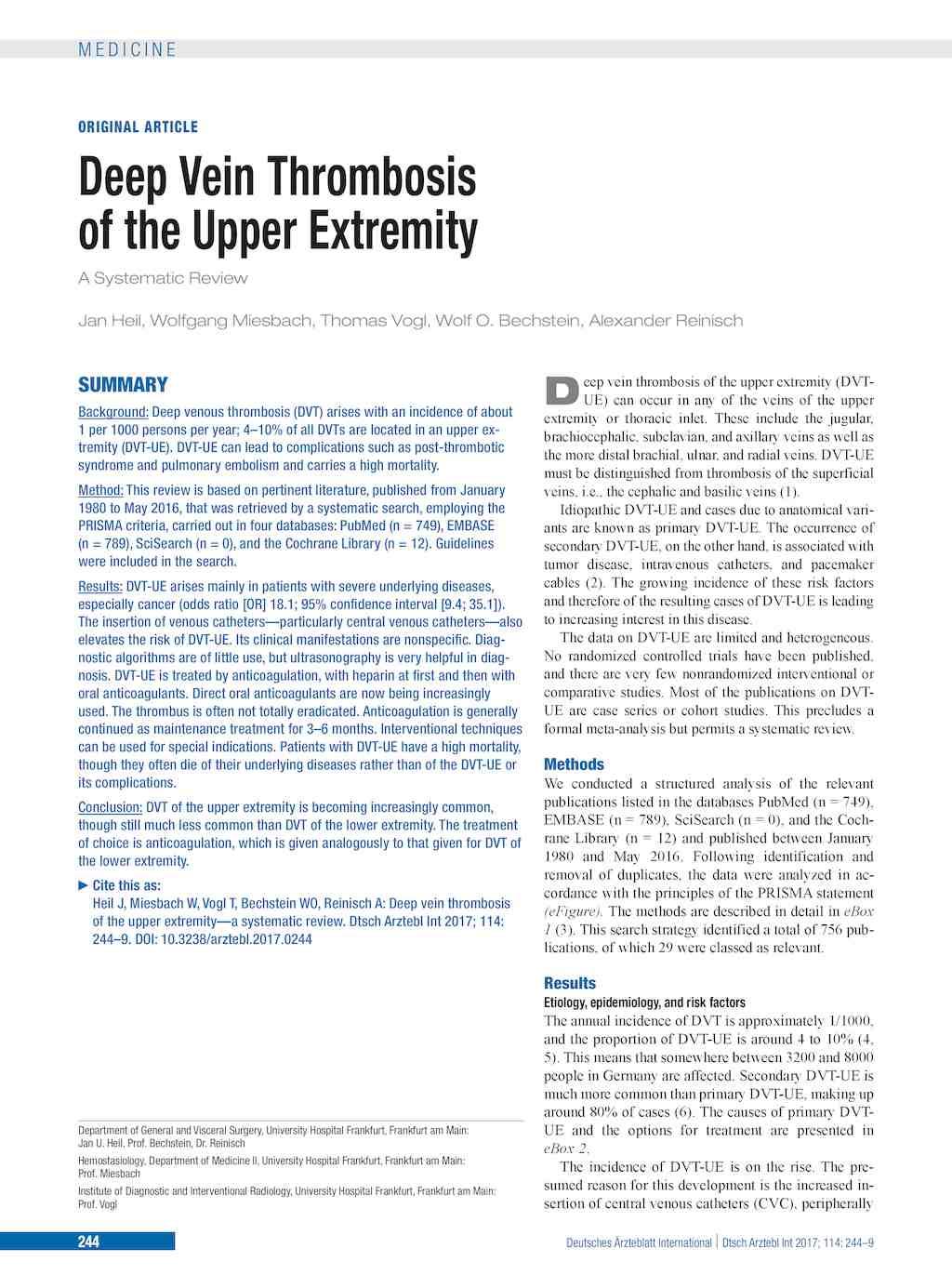 upper limb veins images