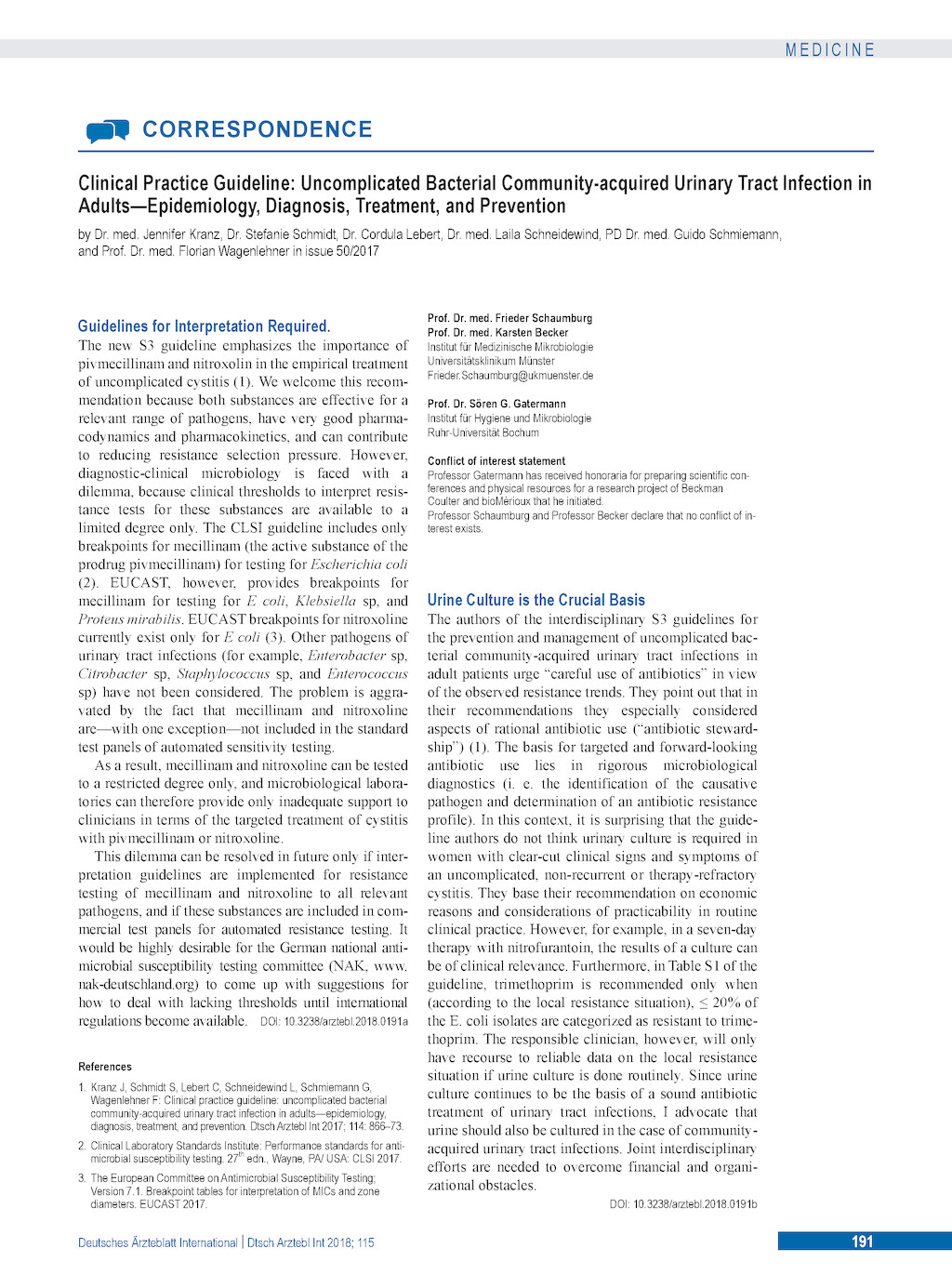 clsi guidelines for antimicrobial susceptibility testing 2015 pdf