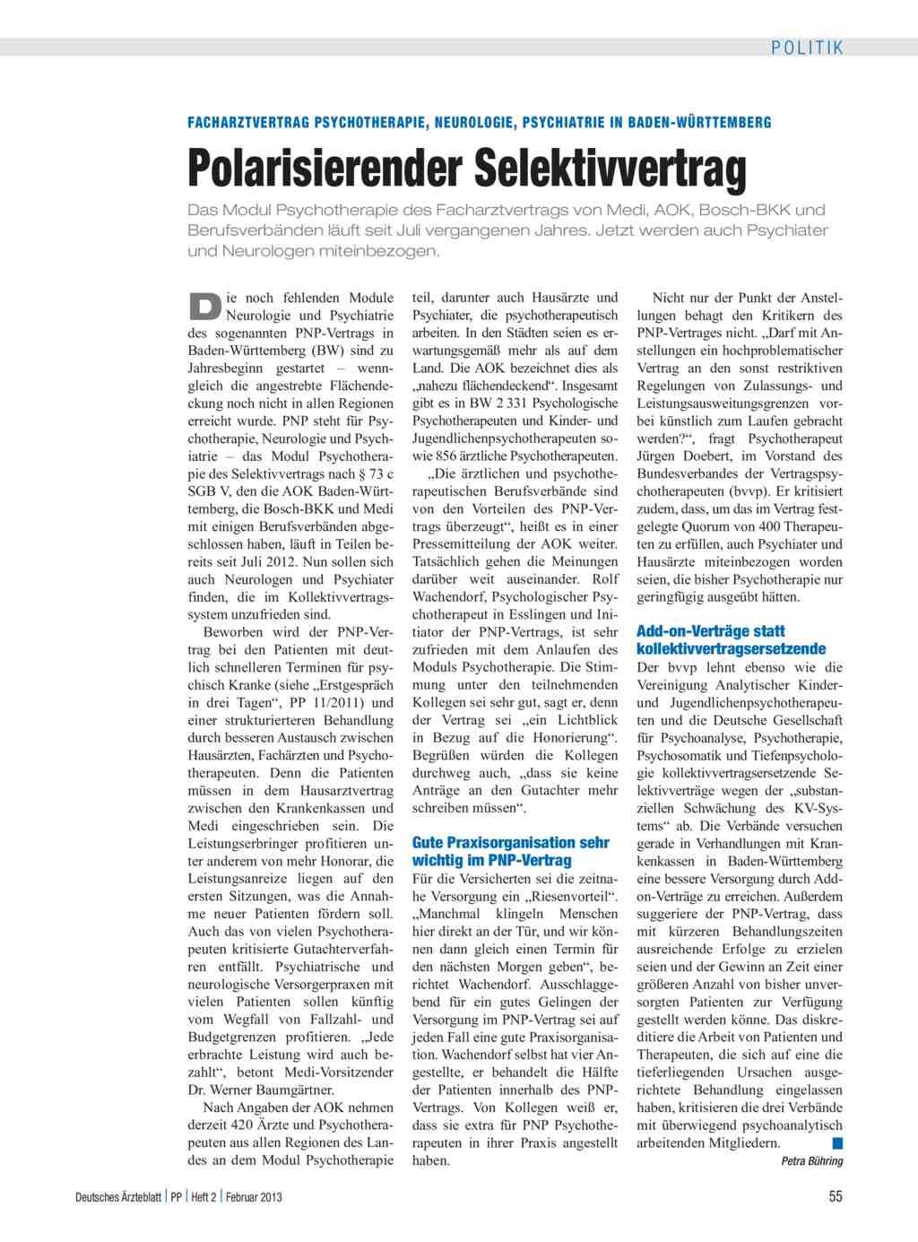 Facharztvertrag Psychotherapie, Neurologie, Psychiatrie in Baden ...