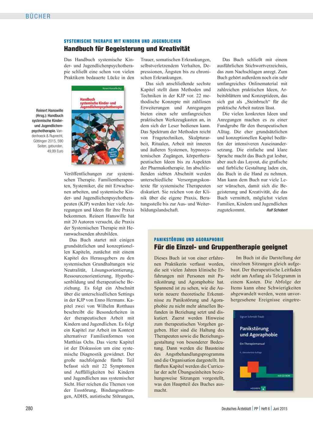 Systemische Therapie mit Kindern und Jugendlichen: Handbuch für ...