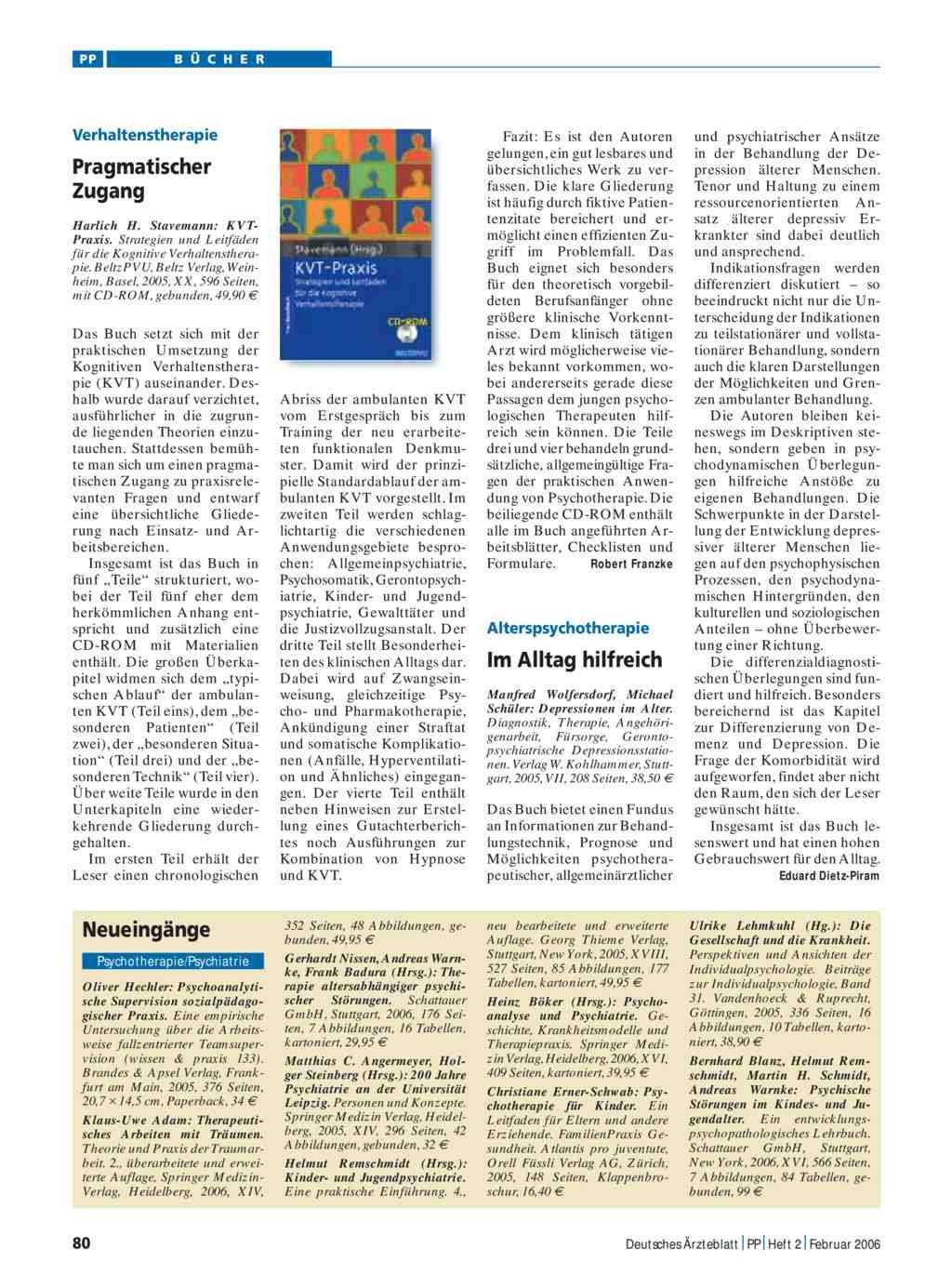 KVT-Praxis. Strategien und Leitfäden für die Kognitive ...