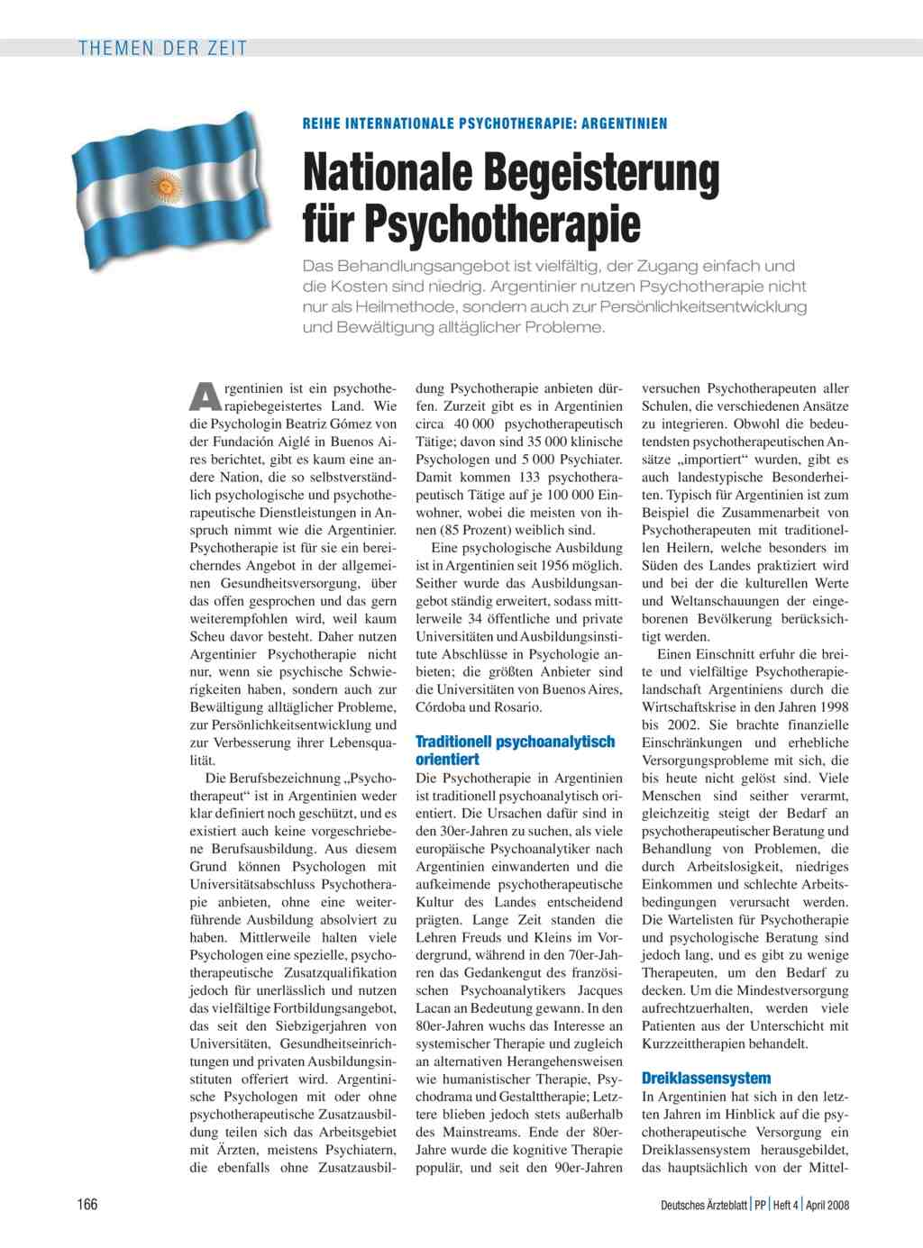 Reihe Internationale Psychotherapie