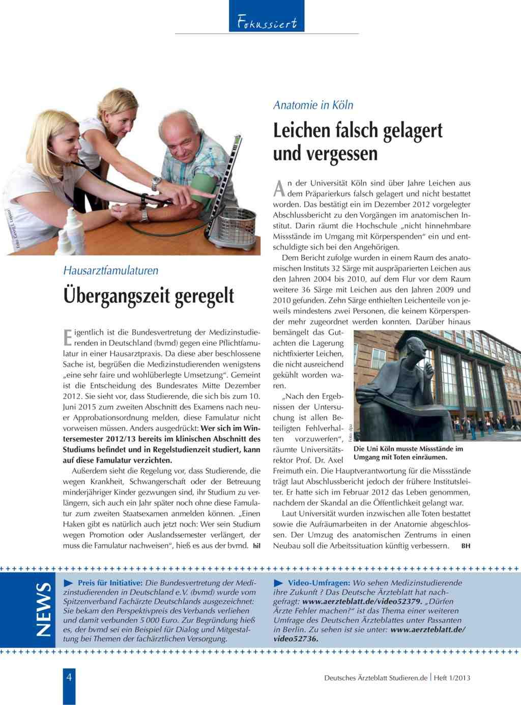 Anatomie in Köln: Leichen falsch gelagert und vergessen
