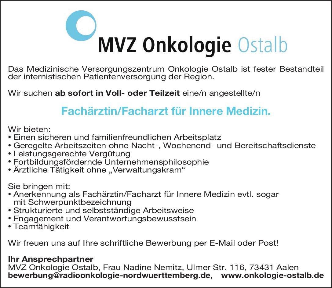 mvz onkologie ostalb fachrztinfacharzt fr innere medizin innere medizin innere medizin arzt - Witten Herdecke Medizin Bewerbung