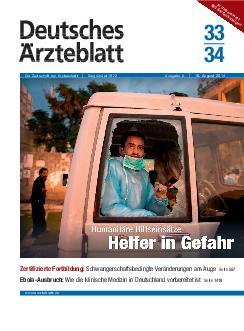 deutsche ärzteblatt bekanntschaften Bünde